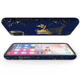 For Apple iPhone 13 Pro Max/13 Pro/13/13 mini,12 Pro Max/12 Pro/12/12 mini Case, Tough Protective Back Cover, Virgo Drawing | Protective Cases | iCoverLover.com.au