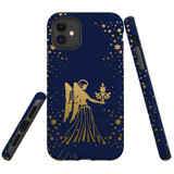 For Apple iPhone 11 Case, Tough Protective Back Cover, Virgo Drawing | Protective Cases | iCoverLover.com.au