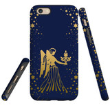 For Apple iPhone 6 & 6S Case, Tough Protective Back Cover, Virgo Drawing | Protective Cases | iCoverLover.com.au
