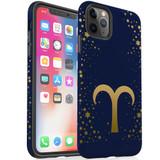 For Apple iPhone 13 Pro Max/13 Pro/13/13 mini,12 Pro Max/12 Pro/12/12 mini Case, Tough Protective Back Cover, Aries Sign   Protective Cases   iCoverLover.com.au