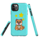 For Apple iPhone 11 Pro Case, Tough Protective Back Cover, Shiba Inu Dog   Protective Cases   iCoverLover.com.au