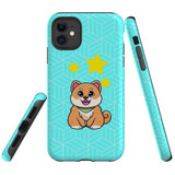 For Apple iPhone 11 Case, Tough Protective Back Cover, Shiba Inu Dog   Protective Cases   iCoverLover.com.au
