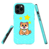 For Apple iPhone 12 Pro Max Case, Tough Protective Back Cover, Shiba Inu Dog   Protective Cases   iCoverLover.com.au