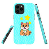 For Apple iPhone 12 / 12 Pro Case, Tough Protective Back Cover, Shiba Inu Dog   Protective Cases   iCoverLover.com.au