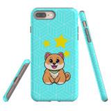 For Apple iPhone 8+ Plus/7+ Plus Case, Tough Protective Back Cover, Shiba Inu Dog   Protective Cases   iCoverLover.com.au