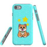 For Apple iPhone SE (2020) / 8 / 7 Case, Tough Protective Back Cover, Shiba Inu Dog   Protective Cases   iCoverLover.com.au