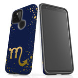 For Google Pixel 4a 5G Case, Tough Protective Back Cover, Scorpio Sign | Protective Cases | iCoverLover.com.au