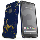 For Google Pixel 3 Case, Tough Protective Back Cover, Scorpio Drawing   Protective Cases   iCoverLover.com.au