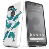 For Google Pixel 3 Case, Tough Protective Back Cover, Baby Seals   Protective Cases   iCoverLover.com.au