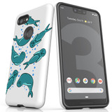 For Google Pixel 3 XL Case, Tough Protective Back Cover, Baby Seals   Protective Cases   iCoverLover.com.au