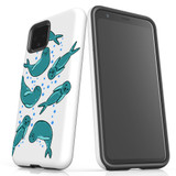 For Google Pixel 4 Case, Tough Protective Back Cover, Baby Seals   Protective Cases   iCoverLover.com.au
