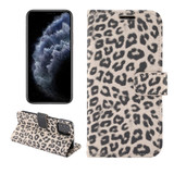 For iPhone 13 Pro Case Leopard Pattern Folio PC + PU Leather Cover Wallet, Brown | PU Leather Cases | iCoverLover.com.au