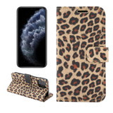 For iPhone 13 Pro Case Leopard Pattern Folio PC + PU Leather Cover Wallet, Yellow | PU Leather Cases | iCoverLover.com.au