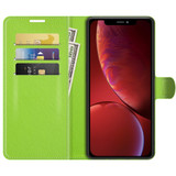 For iPhone 13 mini Case Lychee Texture Folio Protective Cover Wallet, Green   PU Leather Cases   iCoverLover.com.au