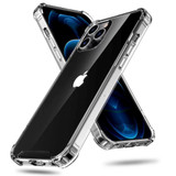 iPhone 13 Case Clear Acrylic Light Protective Cover