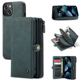 For iPhone 13 mini, Wallet PU Leather Flip Cover, Blue | iCoverLover Australia