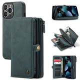 For iPhone 13 Pro, Wallet PU Leather Flip Cover, Blue | iCoverLover Australia
