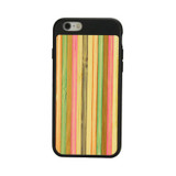 Black Bamboo Rainbow iPhone 6 & 6S Case | Wooden iPhone Cases | Wooden iPhone 6 & 6S Covers | iCoverLover
