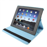 Baby Blue Rotatable Leather iPad 2, iPad 3, iPad 4 Case | Cool iPad 2, 3, 4 Cases | iPad 2, 3, 4 Covers | iCoverLover