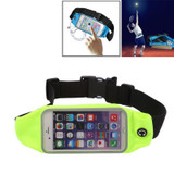 Green Sweat-proof Sports Universal up to 4.7 Inch Phones Waist Bag    Sports Universal Accessories   iCoverLover