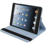 Baby Blue Leather iPad Mini 1 / 2 / 3 Case | Leather iPad Mini 1 / 2 / 3 Cases | Leather iPad Mini 1 / 2 / 3 Covers | iCoverLover