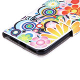 Colourful Fireworks Leather Wallet iPhone SE (2020) / 8 / 7 Case | iCoverLover