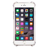 Black Shockproof Grippy Transparent iPhone 8 PLUS & 7 PLUS Case   Protective iPhone 8 PLUS & 7 PLUS Cases   Protective iPhone 8 PLUS & 7 PLUS Covers   iCoverLover