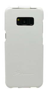 Samsung Galaxy S8 Plus Case White Fashion Vertical Flip PU Leather Cover With Enhanced Anti Slip Grip, Scratch-Resistance | PU Leather Samsung Galaxy S8 PLUS Vertical Flip Cases | PU Leather Samsung Galaxy S8 PLUS Vertical Flip Covers | iCoverLover