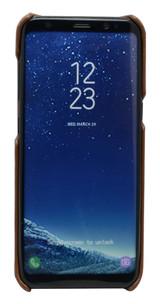 Coffee Elegant Genuine Leather Samsung Galaxy S8 PLUS Case | Samsung Galaxy S8 PLUS Genuine Leather Covers | Samsung Galaxy S8 PLUS Leather Cases | iCoverLover