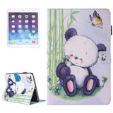 Baby Panda Leather Wallet iPad 2017 9.7-inch Case | Leather iPad 2017 Cases | iPad 2017 Covers | iCoverLover