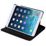 Black Lychee Rotatable Leather iPad 2017 9.7-inch Case   Leather iPad 2017 Cases   iPad 2017 Covers   iCoverLover