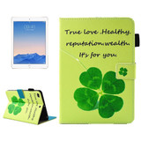 Four Leaf Clover Smart Leather iPad 2017 9.7-inch Wallet Cover | Leather iPad 2017 Cases | iPad 2017 Covers | iCoverLover