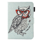 Dash Owl Smart Leather iPad 2017 9.7-inch Wallet Cover | Leather iPad 2017 Cases | iPad 2017 Covers | iCoverLover