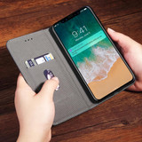 Black Bronze Leather Wallet iPhone XS & X Case | Leather iPhone XS & X Covers | Leather iPhone XS & X Cases | iCoverLover