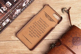 Brown Deluxe Snake Pattern Leather iPhone 8 PLUS & 7 PLUS Case    Leather iPhone 8 PLUS & 7 PLUS Covers   Leather iPhone 8 PLUS & 7 PLUS Cases   iCoverLover