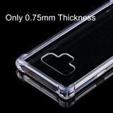 Samsung Galaxy Note 9 Back Case 0.75mm Transparent TPU Back Shell Cover | Protective Samsung Galaxy Note 9 Covers | Protective Samsung Galaxy Note 9 Cases | iCoverLover