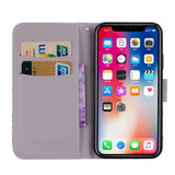 Crown Pattern Wallet iPhone XS MAX Case | Leather Apple iPhone XS MAX Cases | Leather Apple iPhone XS MAX Covers | iCoverLover