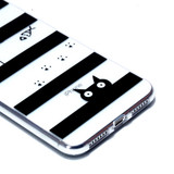 iPhone XS Max Case Cat in Stripes Pattern Clear Varnish Painting Soft TPU Cover | Protective Apple iPhone XS Max Covers | Protective Apple iPhone XS Max Cases | iCoverLover
