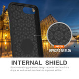 Black Armor iPhone SE (2020) / 8 / 7 / 6s / 6 Case | iCoverLover