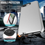 Silver Armor iPhone 6 PLUS & 6S PLUS Case | Protective iPhone Cases | Protective iPhone 6 PLUS & 6S PLUS Covers | iCoverLover