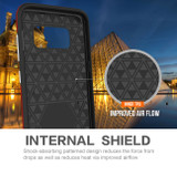 Red Armour Samsung Galaxy S8 Case | Armor Samsung S8 Covers | Armor Samsung S8 Cases | iCoverLover