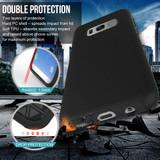 Black Armour Samsung Galaxy S8 Case | Armor Samsung S8 Covers | Armor Samsung S8 Cases | iCoverLover