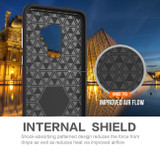 Red Shockproof Protective Samsung Galaxy S9 PLUS Case | Armor Samsung Galaxy S9 Plus Cases | Shielding Samsung Galaxy S9 Plus Covers | iCoverLover