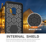 Black Armour Samsung Galaxy S9 Case | Armor Samsung Galaxy S9 Cases | Shielding Samsung Galaxy S9 Covers | iCoverLover