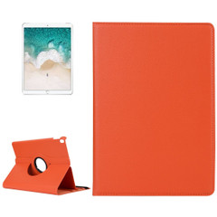 iPad Air 3 (2019) Case Orange Lychee Texture 360 Degree Spin PU Leather Folio Case with Precise Cutouts, Built-in Stand | Free Shipping Across Australia