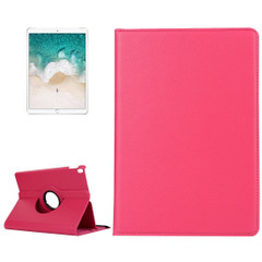 iPad Air 3 (2019) Case Magenta Lychee Texture 360 Degree Spin PU Leather Folio Case with Precise Cutouts, Built-in Stand | Free Shipping Across Australia