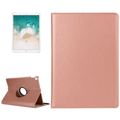 iPad Air 3 (2019) Case Rose Gold Lychee Texture 360 Degree Spin PU Leather Folio Case with Precise Cutouts, Built-in Stand | Free Shipping Across Australia