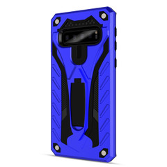 Samsung Galaxy S10 Case, Armour Strong Shockproof Cover with Kickstand, Blue   Armor Samsung Galaxy S10 Cases   Armor Samsung Galaxy S10 Covers   iCoverLover