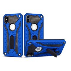 iPhone XS Max Case, Armour Strong Shockproof Cover with Kickstand, Blue | Armor iPhone XS Max Cases | Armor iPhone XS Max Covers | iCoverLover