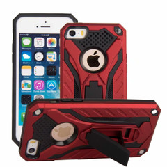 iPhone SE (1st gen), 5s & 5 Case, Armour Strong Shockproof Tough Cover with Kickstand, Red | Armor iPhone SE (1st gen), 5s & 5 Cases | Armor iPhone SE (1st gen), 5s & 5 5C Covers | iCoverLover